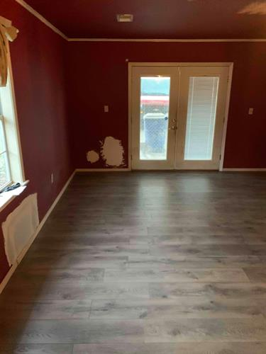 Helped update this customer's home with some new flooring!