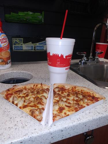 Meal Deal! 2 slices and Med. Drink for 5.00!!!
