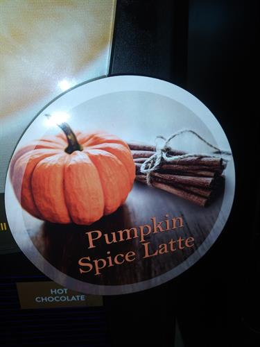 Pumpkin Season is here! Cappuccino, coffee, donuts, muffins and creamer, OH MY!