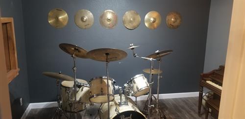 Drum Lesson Room