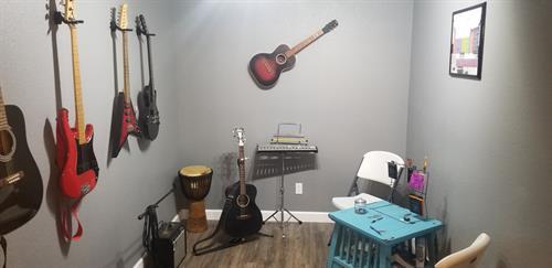 Guitar Lesson Room