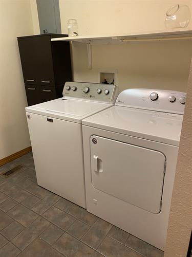 In home washer & dryer