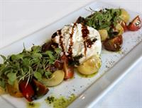 Heirloom Caprese & Burrata Salad