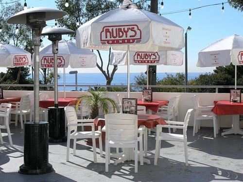 Guests love our rooftop seating!