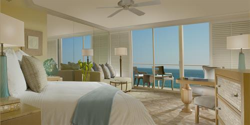Towers room with ocean view