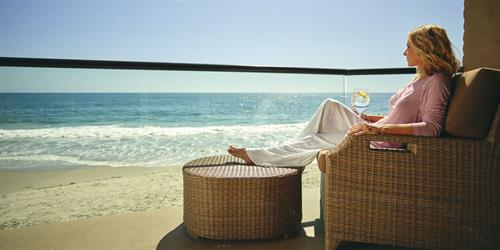 Relaxation awaits at Surf and Sand Resort
