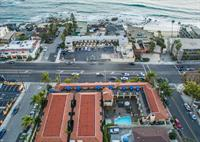 Aerial view of Laguna Brisas Hotel-Just 99 Steps to the Beach!