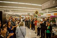Gelson's Grand Opening. Greeting. Photo courtesy of Bear Flag Photography.