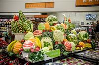 Gelson's Grand Opening. Our beautiful fruit display. Photo courtesy of Bear Flag Photography.