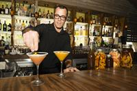 Adam, one of our mixologists at work