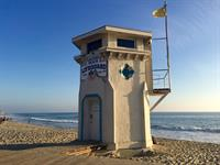 The Lifeguard Tower on Main Beach