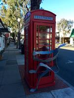 The Red Phone Booth on Forest Ave.