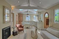 Even a double sided fireplace, additional skylights and antique doors.