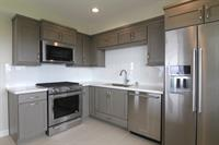Modern cabinetry and appliances