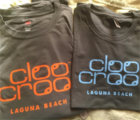 Cloocroo shirts may be bought at The T-shirt Company at Laguna Beach downtown