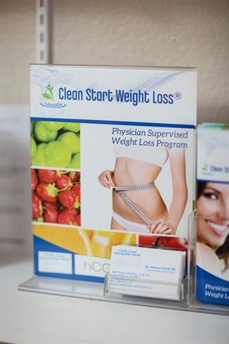 Clean Start Weight Loss Program, medically supervised