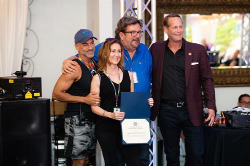 Laguna Beach Pride BOD with Congressman Harley Rouda