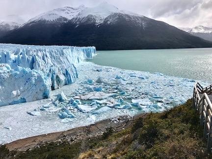 Hear The Crashing Of Calving Glaciers