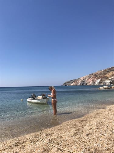 Time For A Swim, Milos, Greece