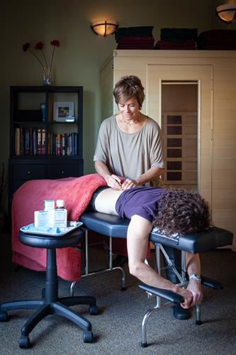 Dry needling offered in our office