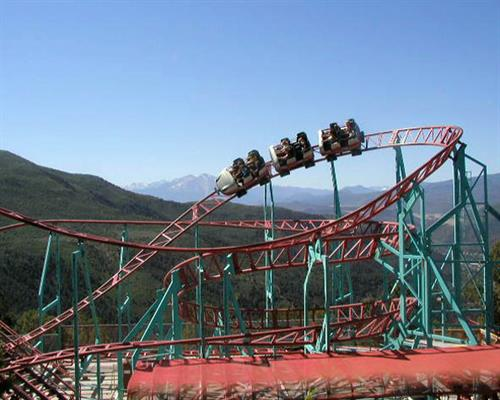 The Cliffhanger is the nation's highest elevation roller coaster