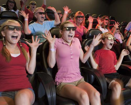 The state's only 4D Motion Theater