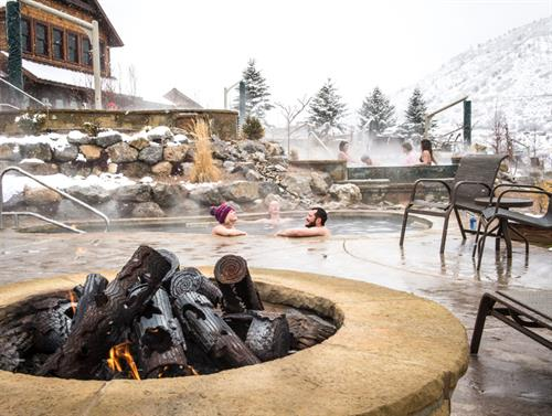 Winter is the perfect time to enjoy the thermal, mineral waters