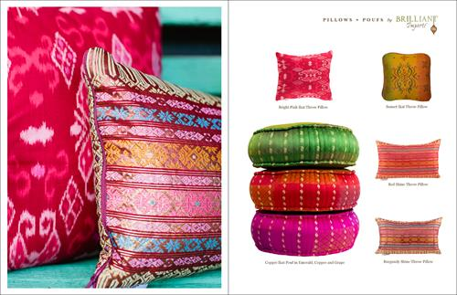 visit our Poufs + Meditation Cushions and Pillows Collection for current offerings, custom orders available