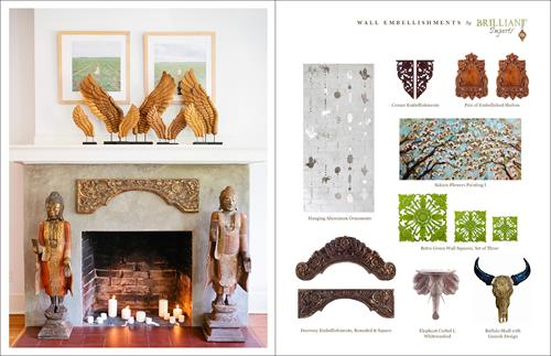 visit our Wall Embellishments Collection for current offerings, custom orders available