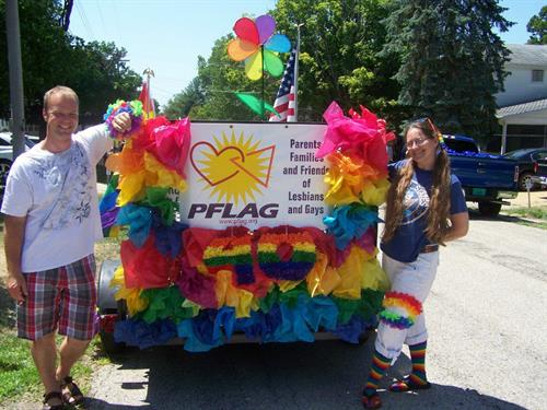 Celebrating 40 years of PFLAG nationally!