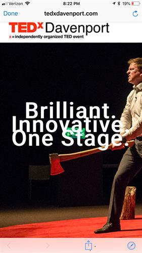 TedX Davenport Promotional Piece