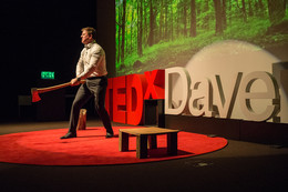 "TedX Davenport ""Sharpen the Axe"""