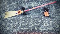 Mini Brooms Halloween 2016