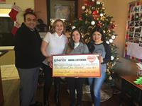 Community Giving Back Program 2016 - CASA Hidalgo, Edinburg, TX.