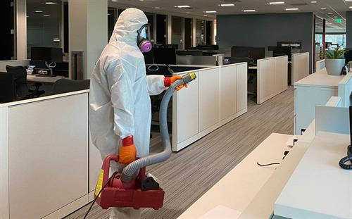 Commercial and Residential Disinfecting