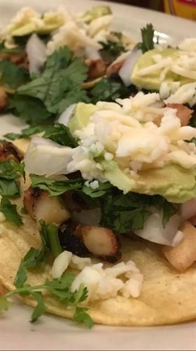 """Pulpo"" street tacos"