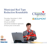 Municipal Red Tape Reduction Roundtable: Virtual