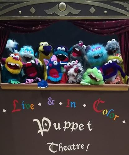 Our Puppet troupe!