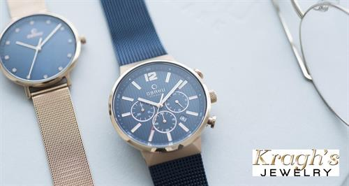 Obaku lifetime warranty watch