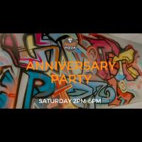 Graffiti Pizza 2nd Anniversary Party