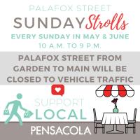 Palafox Street Sunday Strolls
