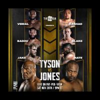 Tyson v Jones Fight