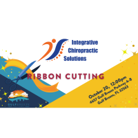 Ribbon Cutting Integrative Chiropractic Solutions