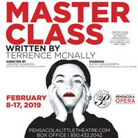 Pensacola Little Theatre - MASTER CLASS
