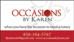 Occasions by Karen