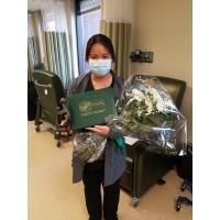 Baptist Hospital Nurse Alma Flores, R.N., Presented DAISY Award for Extraordinary Nurses