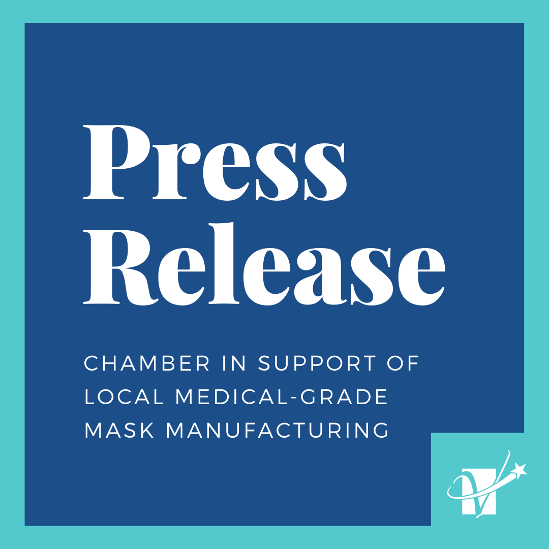 Press Release: Chamber In Support of Local Medical-Grade Mask Manufacturing