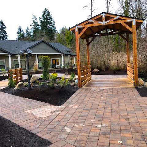 You can visit the memorial garden between our care and grief centers at any time of the day.