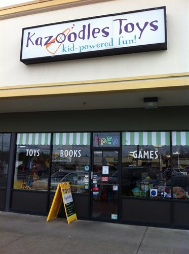 Kazoodles storefront.