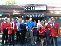 CCSI Ribbon Cutting at our new offices with the GVCC